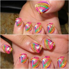 http://www.facebook.com/GSpaNailsFlorenceKy?ref=tn_tnmn  Cool your nails off with a feathery colorful nail design