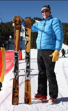 Want to show your Forever Buff pride on the slopes? Check out www.CollegeSkis.com for officially licensed CU skis!