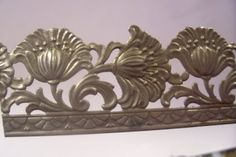 Lamp Banding unfinished Steel 1 scalloped floral Texture for Rolling Mill