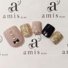Cute Toe Nails, Super Cute Nails, Toe Nail Art, Pretty Nails, Lily Nails, Rose Nails, Pedicure Designs, Toe Nail Designs, Feet Nail Design