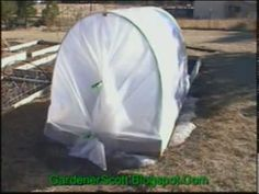HOOP HOUSE CONSTRUCTION  Construction of a hoophouse or mini greenhouse for your raised bed garden. Building these will give you an earlier start to vegetable gardening and also allow you to extend your growing season later into fall. You'll get vegetables to your table quicker and enjoy them longer.    The materials you will need to build a 4×8 hoophouse are rather simple and cheap to buy.