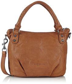 3a8fba72cc132 Liebeskind Berlin Gina silky suede leather Gina Damen Henkeltaschen  37x26x11 cm (B x H x T)