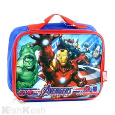 The Avengers Insulated Lunch Bag.  LunchBags  BackToSchool  Kids Insulated  Lunch Bags 844593414269f