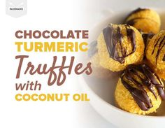 Why not have these decadent, chewy, no-bake truffles as tonight's healthy dessert?