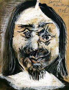 Pablo Picasso - Man's Head, 1972