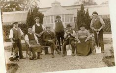 The gardeners at Scampston Hall, North Yorkshire, take a well earned break. Tea anyone? #Garden #Heritage #Scampston #Yorkshire #Tea