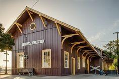 Santa Clara Railroad Depot - 1005 Railroad Avenue, Santa Clara