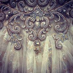 gorgeous beading detail