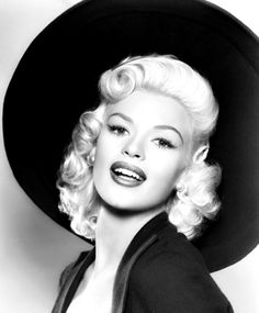 Jayne Mansfield in a publicity portrait for The Girl Can't Help It (1956)