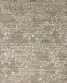Amour Wool & Silk - Kiss - Samad - Hand Made Carpets Transitional Rugs, Old World Charm, Home Rugs, Hand Spinning, Green Rugs, Vibrant Colors, Kiss, Carving, Wool
