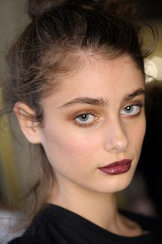 #hairandmakeup Whether sultry and smoky or dewy and ethereal, pick your perfect party look from the autumn/winter 2015 catwalks, and discover how to recreate it