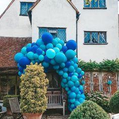 Party Blue Ideas Bubblegum Balloons