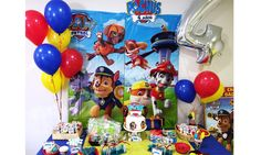 Patrulla canina party birthday