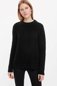 COS | Chunky waffle-knit jumper