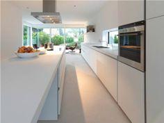 Moderne eiland keuken