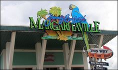 Jimmy Buffett's Margaritaville Cafe restaurant at Universal Studios review