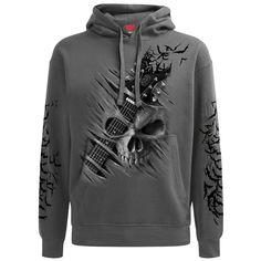 Looking for Spiral Mens - Night Riffs - Hoody Charcoal ? Check out our picks for the Spiral Mens - Night Riffs - Hoody Charcoal from the popular stores - all in one. Stylish Hoodies, Cafe Racer Leather Jacket, Hoodie Outfit, Mens Sweatshirts, Heavy Metal, Long Sleeve Shirts, Shirt Designs, Men Casual, Warriors