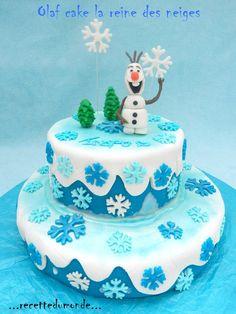 Olaf Cake - gâteau 3D la reine des neiges - frozen cake