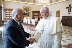Pape François - Pope Francis - Papa Francesco - Papa Francisco : sept 2014 – rencontre du Prince El Hassan bin Talal de Jordanie