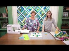 Missouri Star Quilt Company Replay- Make a String Quilt with Jenny & Misty