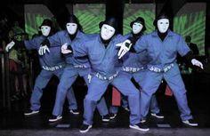 Jabbawockeez... America's Best Dance Crew, White Boys, Parkour, 4 Life, In A Heartbeat, Sketching, My Friend, Envy, Bliss
