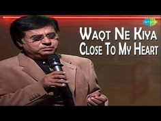 Jagjit Singh - Close To My Heart Live Concert The Ghazal Maestro also known as Ghazal King of All time. The Songs sung by Jagjit Singh will remain immortal i. Jagjit Singh, Bollywood Songs, Beautiful Songs, Close To My Heart, All About Time, Singing, Black Swan, Concert, Music