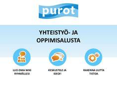 Purot.net - yhteistyö- ja oppimisalusta by Harto Pönkä via slideshare