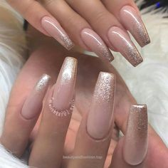nude pink ballerina nails with sparkly chrome gradient french.Likes, 9 Comments - Ugly Duckling Nails Inc. (Ugly Duckling Nail Products) on…… -Beautiful nails by Richard ✨Ugly Duckling Nails page is dedicated to promoting quality, inspirational Prom Nails, Long Nails, Hair And Nails, My Nails, S And S Nails, Nails Inc, Neutral Nails, Nagel Gel, Gorgeous Nails