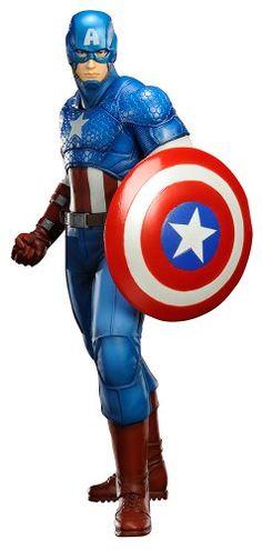 Kotobukiya Marvel Comics Captain America Now! Artfx+ Statue -