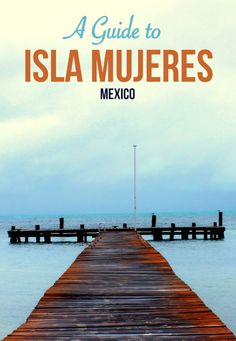 Isla Mujeres is only a short boat ride from Cancun. It's a fantastic island and well worth a visit if you are in the Yucutan area. We spent 4 days on this gorgeous island and wrote a guide about it. You can read it here http://globalhelpswap.com/things-to