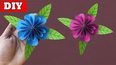 """In this video, you'll learn How To Make Paper Flower Easy Step By Step.Many people want to know about How To Make Paper Flower. For that we make this video """". Easy Paper Crafts, How To Make Paper, Craft Videos, Paper Flowers, Origami, Diy, Paper Crafting, Bricolage, Handyman Projects"""