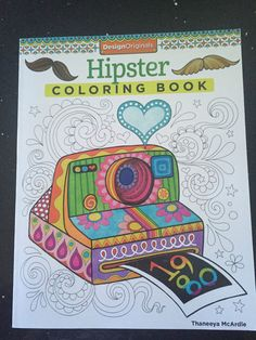 hipster coloring book thaneeya mcardie design originals - Hipster Coloring Book