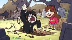 Parece que tem um Zumbi em Gravity Falls... FELIZ HALLOWEEN!