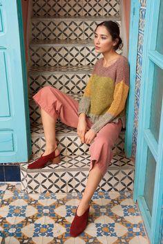 Lana Grossa PULLOVER Ombra - FILATI No. 55 (Frühjahr/Sommer 2018) - Design 32 | Wool | FILATI-Shop Lana Grossa-Store.com
