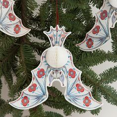 Klaus Haapaniemi bat card paper decoration