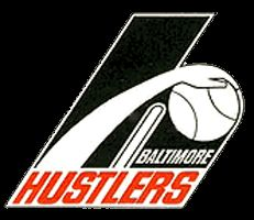 Baltimore Claws Unused Logo (1976) - A hand with a basketball in a large h