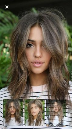 Long Wavy Ash-Brown Balayage - 20 Light Brown Hair Color Ideas for Your New Look - The Trending Hairstyle Brown Blonde Hair, Dark Hair, Soft Brown Hair, Summer Brown Hair, Dyed Hair Brown, Brown Hair Tones, Brown Layered Hair, Dark To Light Hair, Summer Hair Color For Brunettes