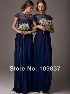short sleeve lace bridesmaid dresses, navy bridesmaid dresses, custom bridesmaid dresses, modest bridesmaid dress, cheap bridesmaid · hilldressing · Online Store Powered by Storenvy Jewel Tone Bridesmaid, Navy Blue Bridesmaid Dresses, Wedding Bridesmaid Dresses, Wedding Party Dresses, Prom Gowns, Evening Dresses, Dress Prom, Dress Long, Blue Dresses