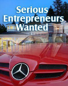 Serious Entrepreneurs Only Please    www.learntoearnmoretoday.net?t=pint44
