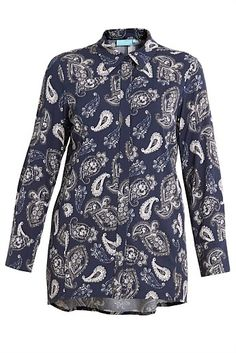 Paisley Panel Shirt - Designer Women's Clothes Online