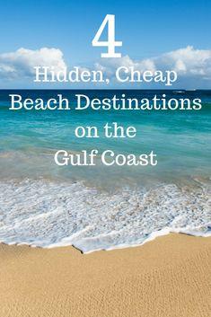 4 Hidden, Cheap Beach Destinations on the Gulf Coast - beaches Beach Vacation Tips, Best Island Vacation, Family Vacation Destinations, Beach Trip, Vacation Ideas, Vacation Pics, Cruise Vacation, Affordable Honeymoon Destinations Usa, Vacation Countdown