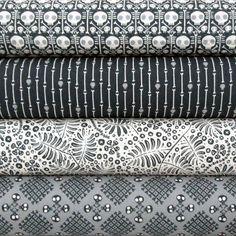 Dem Bones by Sarah Watson   Cloud9 Fabrics, via Flickr