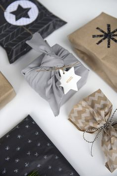 gift wrap with extra special touches