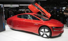 Volkswagen XL1. The most fuel efficient car in the world, only 250 will be produced