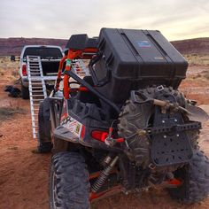 Pelican makes it so no project is too remote to get your equipment in and out. #pelicancase #polarisrzr #s1000 #drone #dronelife #moab #4x4 #dirtbiking #motocross #droneoftheday #aerialvideography #aerialphotography