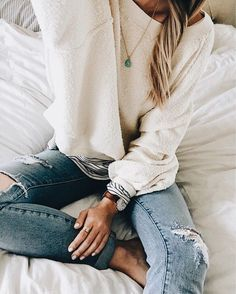 Casual comfy outfit idea for the weekend Looks Chic, Looks Style, Style Me, Fall Winter Outfits, Autumn Winter Fashion, Casual Winter, Cozy Winter, Winter Wear, Winter Style
