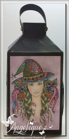 Sweet Pea Stamps - Miss Witch by Norma J Burnell