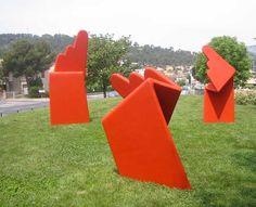 installation : L'Or du Paraclet, La Garde, Var. #JeanLouisCHARPENTIER © Land Art