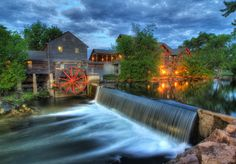 Old Mill in Pigeon Forge, Tennessee