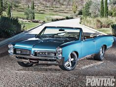 '67 Pontiac GTO Roadster. Awesome American Muscle Car!